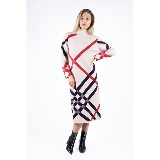 Sukienka Odzież Damska PI wielokolorowy EWLP