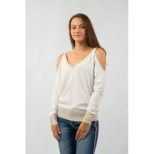 Sweter damski Gaudi z dekoltem v Odzież Damska EI FGFG