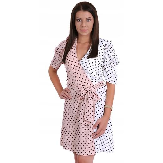 Sukienka z krótkim rękawem mini Odzież Damska KH YXUF