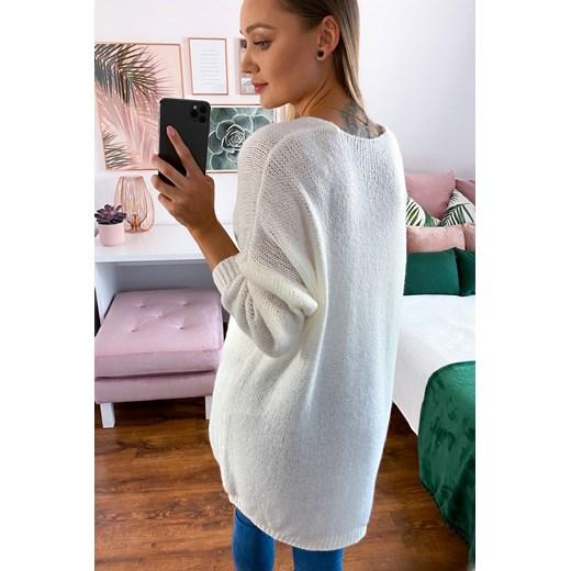 Sweter damski z dekoltem v Odzież Damska FO GHCN