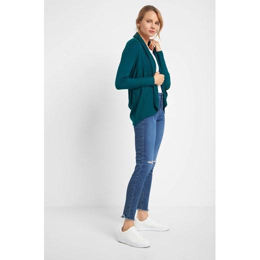 Sweter damski ORSAY z dzianiny Odzież Damska PX zielony SQBG