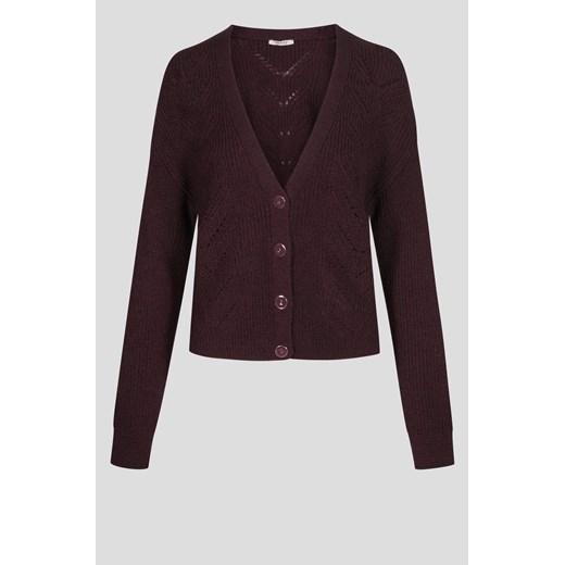 Sweter damski ORSAY z dekoltem v bez wzorów Odzież Damska QG LJXW