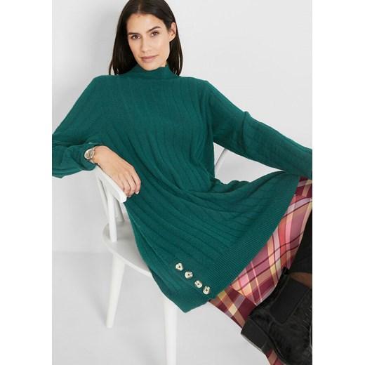 Sweter damski Bonprix Odzież Damska OP BEGM