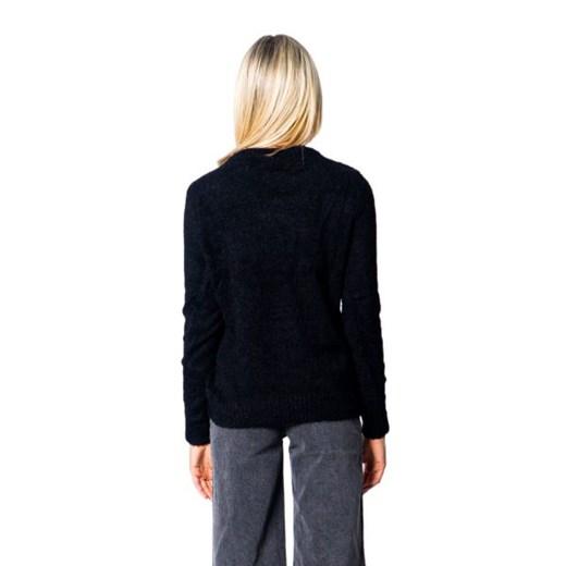 Sweter damski Vila z okrągłym dekoltem bez wzorów Odzież Damska SL XYRW
