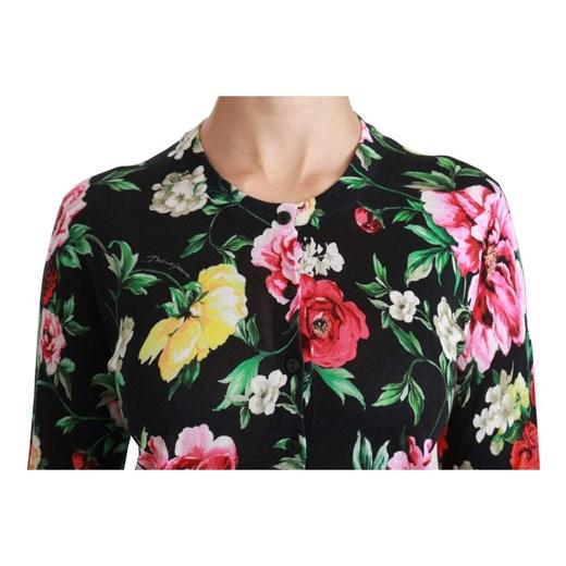 Silk Sweater Dolce & Gabbana showroom okazyjna cena Odzież Damska NL wielokolorowy NUTB