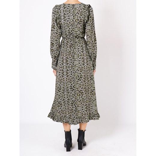 Dress Essentiel Antwerp wyprzedaż showroom Odzież Damska TQ zielony QIKN