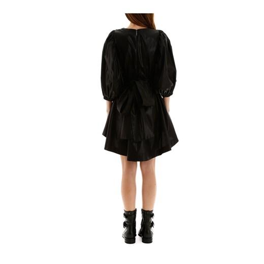 Taffeta mini dress okazja showroom Odzież Damska UI czarny MRTR