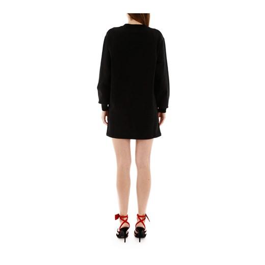 Mini dress Off White okazyjna cena showroom Odzież Damska DX czarny BWAV