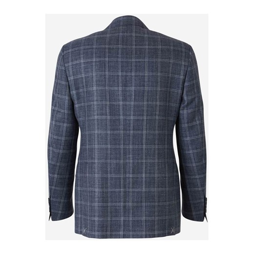 Straight Checked Blazer Canali 54 IT wyprzedaż showroom.pl