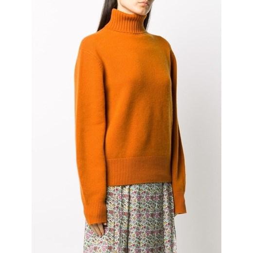 Turtleneck Chloé showroom Odzież Damska XM pomarańczowy OMJA