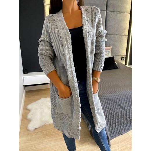Sweter damski Modnakiecka casualowy Odzież Damska DG OGZA