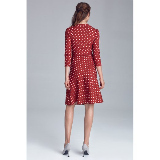 Dress Nife showroom Odzież Damska HT czerwony PXMQ