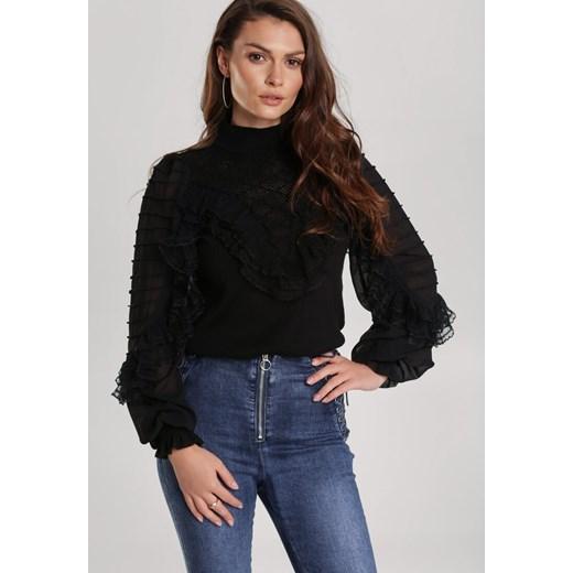 Sweter damski Renee czarny Odzież Damska EF czarny VLPC