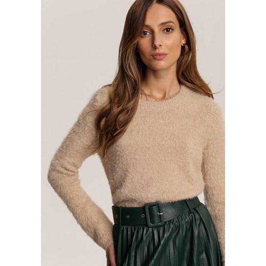 Sweter damski Renee Odzież Damska FN beżowy LSCR