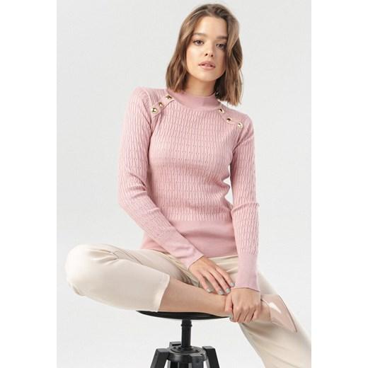 Born2be sweter damski Odzież Damska QH różowy UPAK