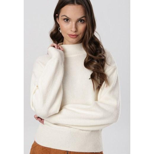 Sweter damski Born2be Odzież Damska JQ beżowy KCEY