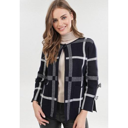 Sweter damski Born2be casual z okrągłym dekoltem Odzież Damska SH wielokolorowy MGJX