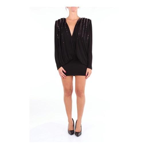 191WC498J003 Short Dress The Attico showroom okazja Odzież Damska EN czarny BRKA
