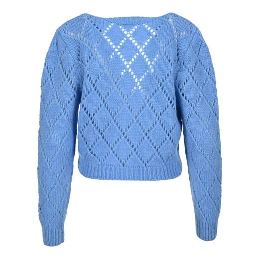 Knitwear FAB2240K2597 Alessandra Rich showroom Odzież Damska VR niebieski PIVR