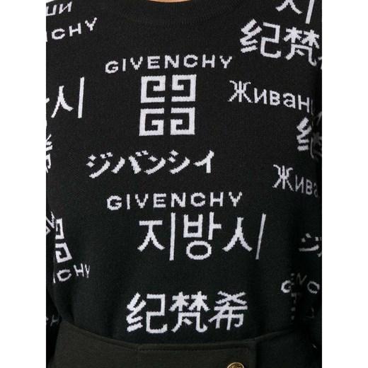 Jumper Givenchy showroom Odzież Damska PL czarny DQJJ