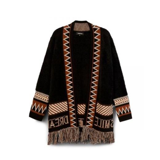 Sweter damski Desigual w serek Odzież Damska VJ NJJO