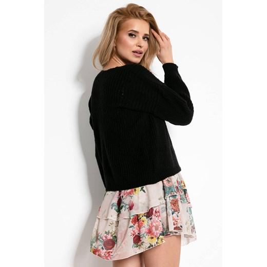 Sweter damski Fobya Odzież Damska IO czarny NUED