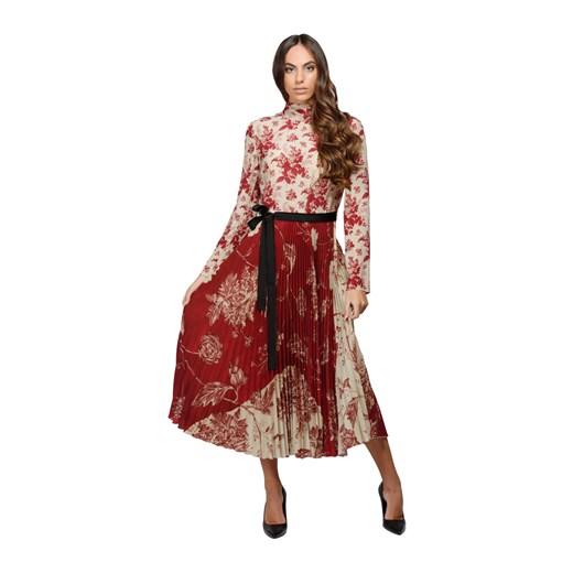 Dress Red Valentino showroom Odzież Damska MP wielokolorowy RMCK