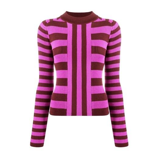 Sweter damski MSGM Odzież Damska DO różowy JNQL