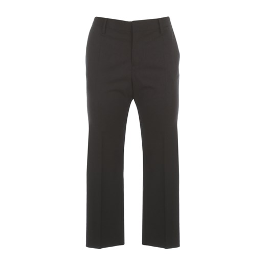 CROPPED TROPICAL WOOL PANTS Dsquared2 38 IT showroom.pl
