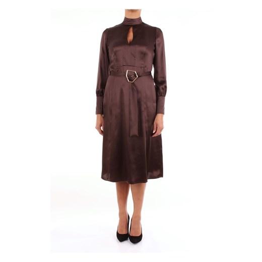 19130033 Long Barba okazja showroom Odzież Damska ZE brązowy ODFG