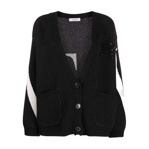 Sweater Valentino showroom Odzież Damska UR czarny CZKG