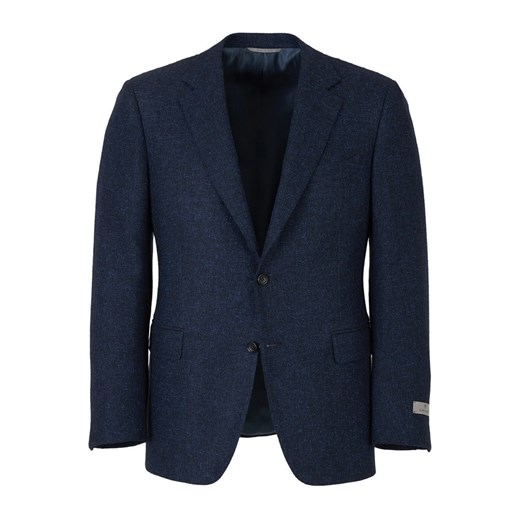 Contemporary jacket with simple fastening Canali 48 IT showroom.pl