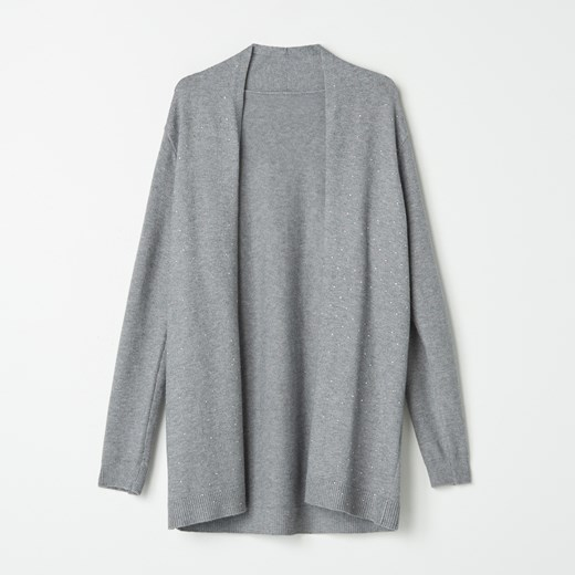 Sweter damski Mohito Odzież Damska OP szary QONN