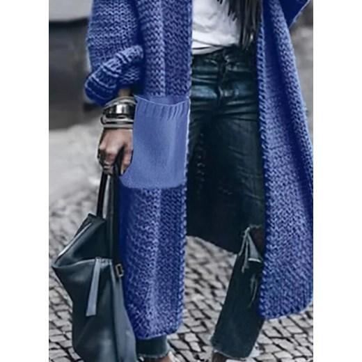 Sweter damski Sandbella Odzież Damska DO niebieski OQSV
