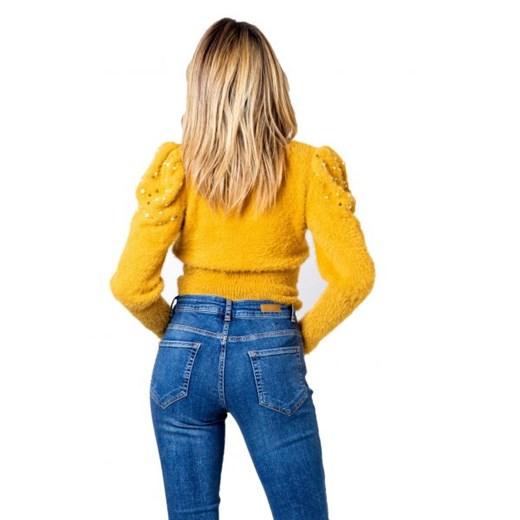 Sweter damski One.0 z poliamidu Odzież Damska UX żółty JJUR