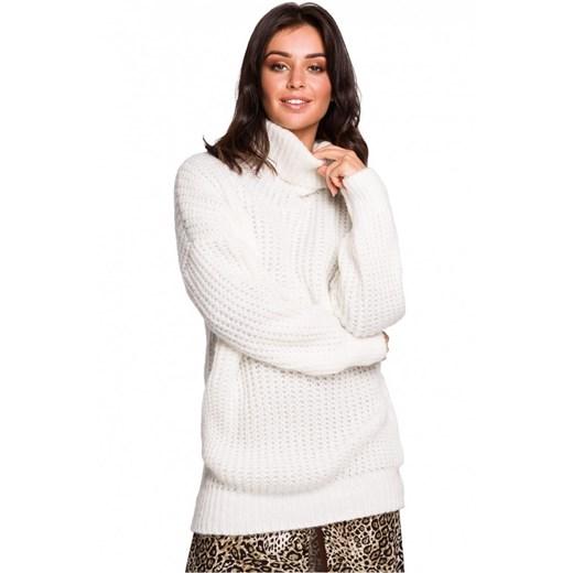 Sweter damski Be Knit Odzież Damska XT biały NRLL
