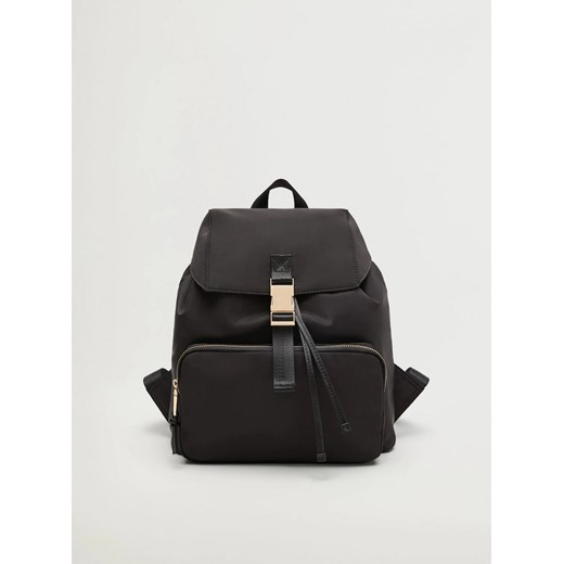 Black Backpack Mango Raymon Mango One size Factcool