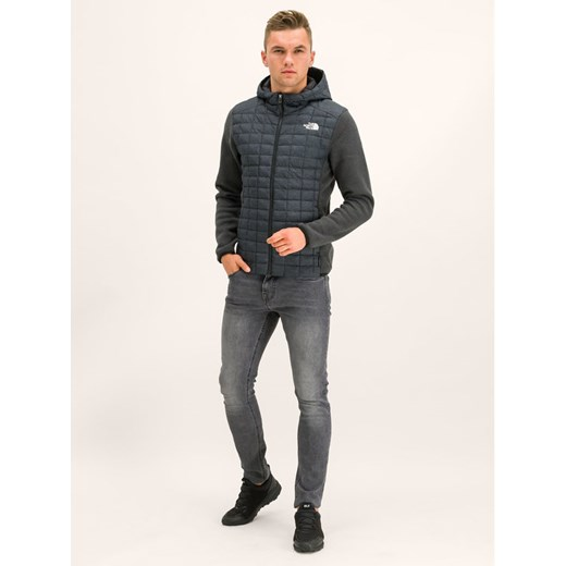 The North Face Kurtka przejściowa Thermoball Hybrid NF0A2U7ZHX8 Szary Regular Fit The North Face S promocja MODIVO