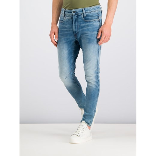 G-Star RAW Jeansy Slim Fit D-Staq D05385-9178-A588 Niebieski Slim Fit 36_34 okazja MODIVO