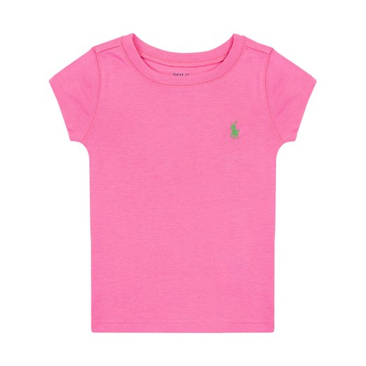 Polo Ralph Lauren T-Shirt Core Replen 311698703 Różowy Regular Fit Polo Ralph Lauren 2T MODIVO promocyjna cena