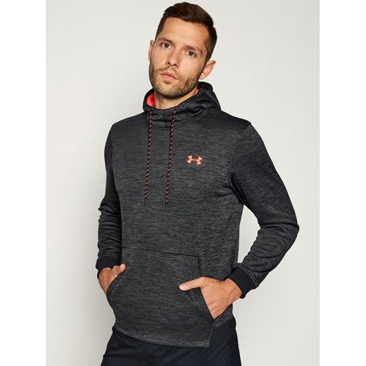 Under Armour Bluza techniczna Armour Fleece Twist Hoodie 1320751 Szary Regular Fit Under Armour L MODIVO promocja