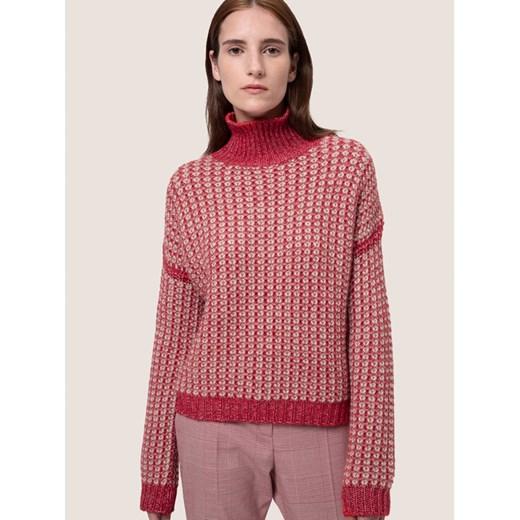 Sweter damski Hugo Boss Odzież Damska VZ różowy ETLW