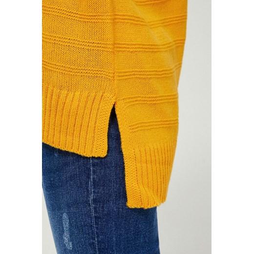 Sweter damski z okrągłym dekoltem Odzież Damska YP XUXZ