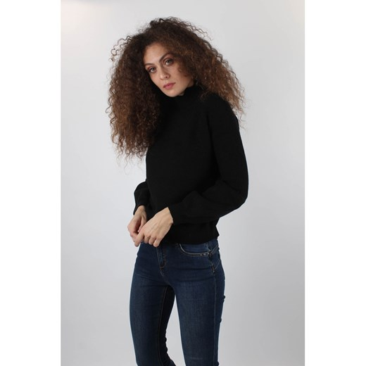 Sweter damski Markup bez wzorów Odzież Damska WB czarny NEPD