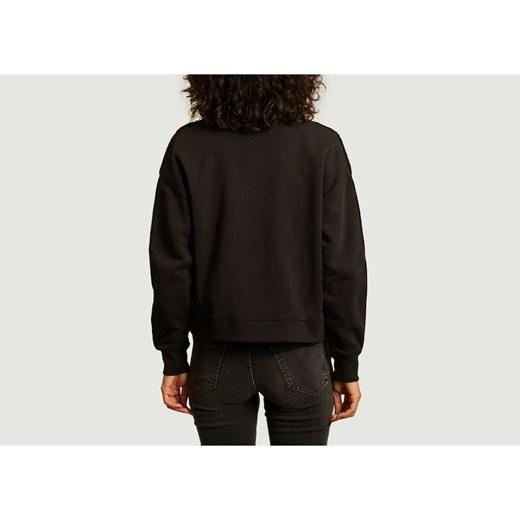 Maison Labiche sweter damski z bawełny Odzież Damska GG czarny DFNH