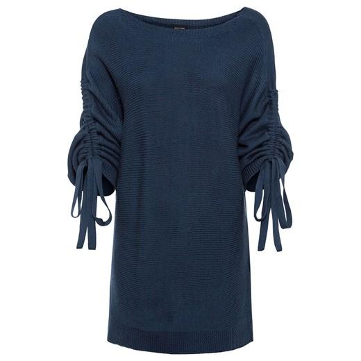 Sweter damski Bonprix Odzież Damska TI niebieski LJIM
