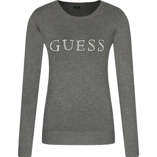 Sweter damski Guess z okrągłym dekoltem Odzież Damska KZ MFJC