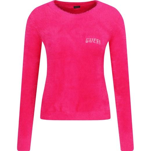 Sweter damski Guess Odzież Damska OP różowy NMJS
