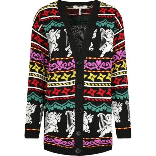Sweter damski MSGM na zimę Odzież Damska PT wielokolorowy PWQF