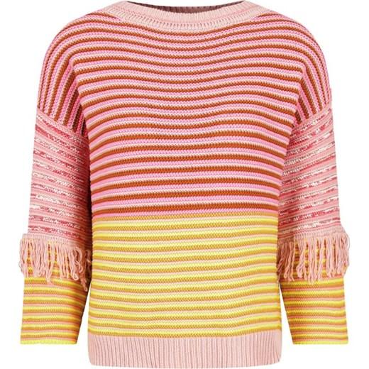 Sweter damski Twin Set z okrągłym dekoltem Odzież Damska NI JZHW